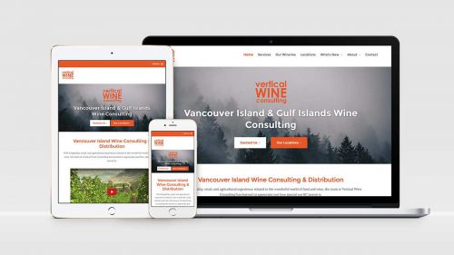 vertical wine launches new website